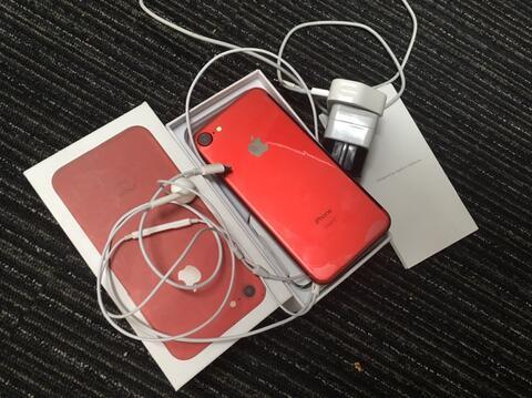 iphone 7 128 GB RED Edition, ex cewek, super mulus!