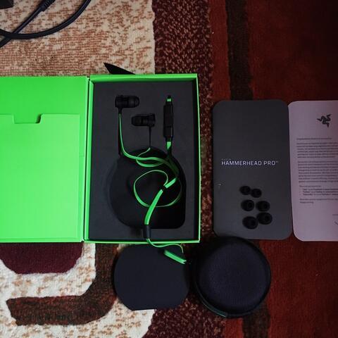 Earphone/Headset Razer Hammerhead Pro V2 Original