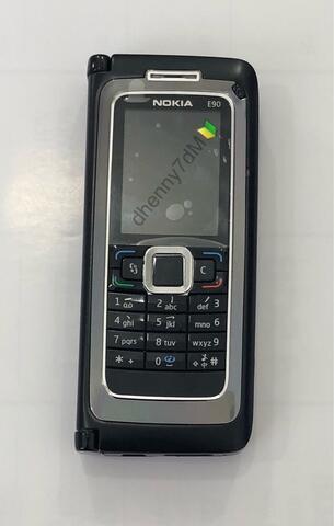 Nokia communicator E90 Black super mulus Normal siap pakai