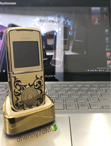 Nokia 8800 sirocco gold versace limited edition collector item