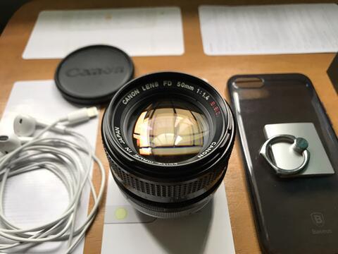 (Bokeh!) Lensa Canon FD 50mm F/1,4 Tajam for Sony Canon Fuji Not 35mm 85mm