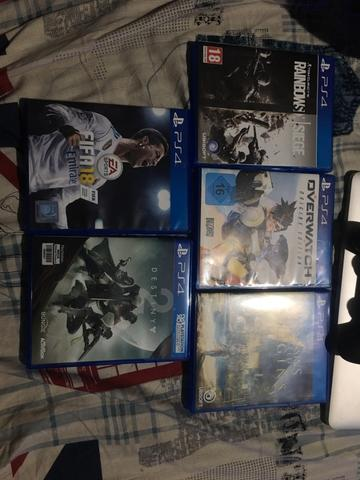 GAME PS4 (Overwatch, Assassins Creed Origins, Destiny 2, Fifa 18, Rainbow Six Siege)
