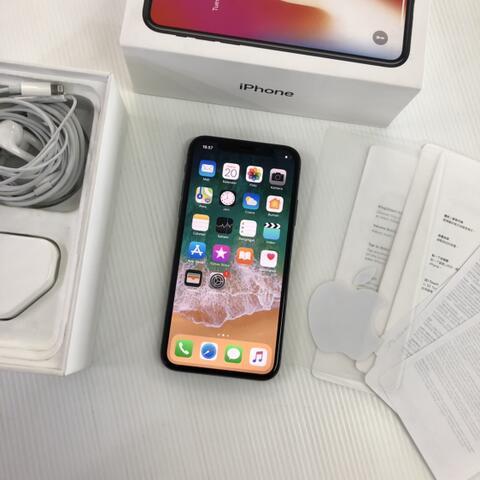 iPhone X 256GB Space Gray Super Mulus fullset Garansi singapore ZP/A