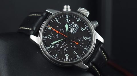 FORTIS FLIEGER PROFESSIONAL AUTOMATIC CHRONOGRAPH DAY DATE 41MM not Tag Heuer
