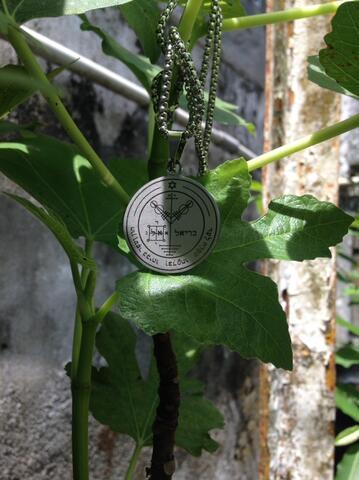 Kalung Seal.4 Salomon Sulaiman Kekayaan dan Kehormatan