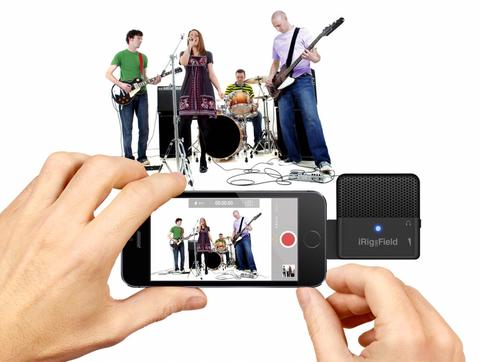 IK multimedia iRig Mic Field compact audio