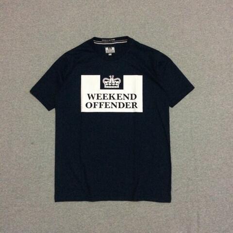 Kaos Weekend Offender Prison Navy Size M dan L