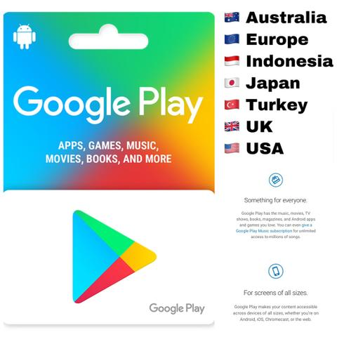 Google Play Gift Card Uk - Gift Ideas