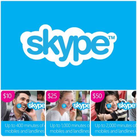Skype Credit Gift Card $10 $25 $50 - ibanezblack.store