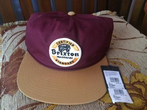 cheap for discount bc164 13376 Topi Brixton Soto Snapback Original not Vans Dickies Thrasher Nike Adidas New  Era