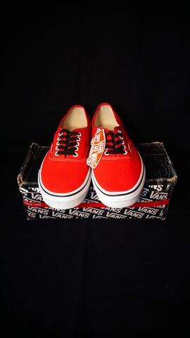 "Jual Vans Authentic ""Rad Pack"" Red Original  06f562eed"