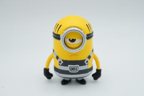 Takara Tomy Tomica - Metacolle Diecast - Despicable ME - Minions Mel - Prison Uniform