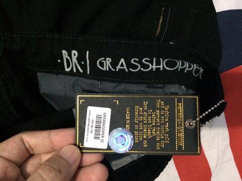 Celana Petersaysdenim (PSD) Shortpant GRASSHOOPER, Quiksilver Chino Longpant