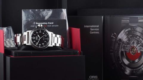ORIS BC3 ADVANCED DAY DATE AUTOMATIC STEEL 42MM