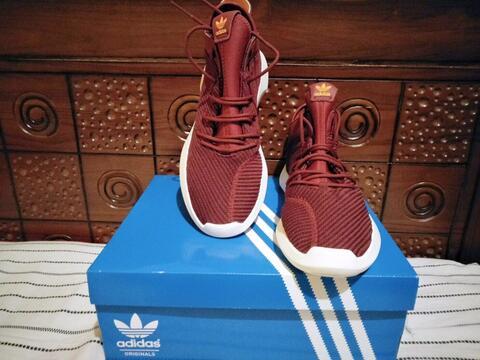 Sepatu Adidas Crazy 1 ADV Red Original 100%
