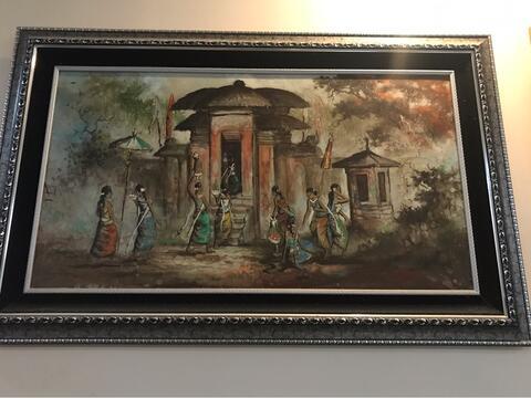 lukisan Huang Fong TH 79 (110cm x 60cm)
