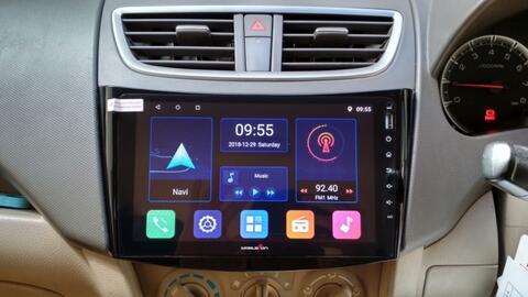 Headunit Double Din Android for Suzuki Ertiga layar 9 Inchi