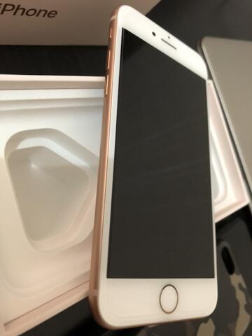 iPhone 8 Gold 64gb. Mulusss. Lengkap Fullset Original. Garansi Resmi.