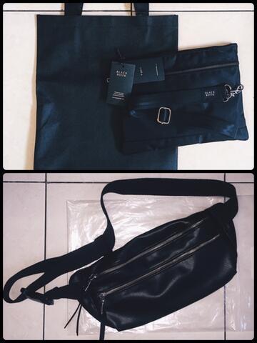 Black Book - Tas, Sling Bag, Sling Pouch, Bag