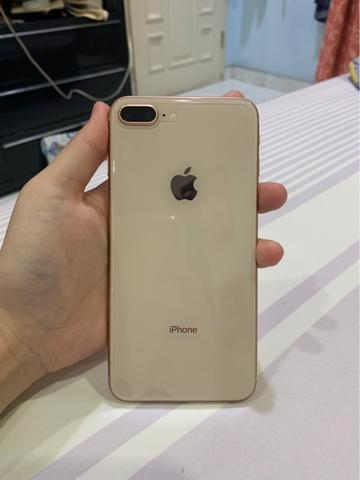 WTS Iphone 8plus 64gb rosegold full set minus bagian bawah