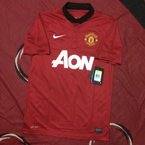 quality design a2dbd 922a1 Jersey Manchester United Home 2013/14 Size S ORIGINAL