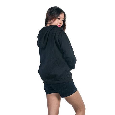 Hoodie Zipper Black (M,L,XL)