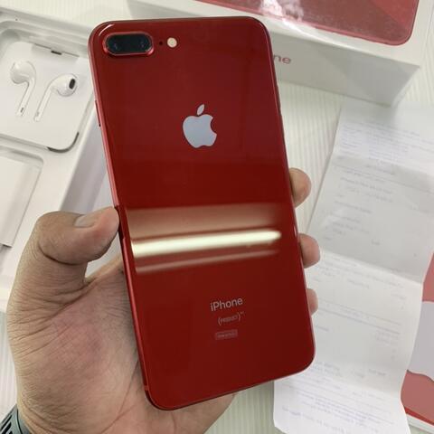 Terjual Iphone 8 Plus 64gb Red Product Super Mulus Garansi Ibox Juli