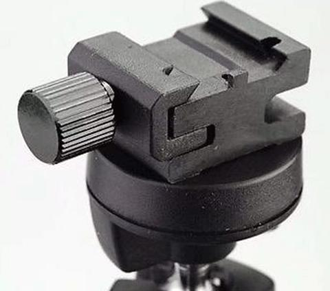 """HSA-2 Hot Shoe Flash Stand Adapter with 1/4"""" Tripod Screw HSA - 2"""