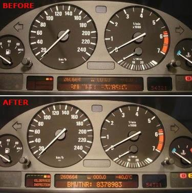 BMW E38 E39 E53 Instrument Cluster Pixel Ribbon Cable Repair LCD Display
