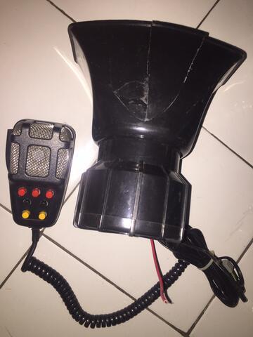 Klakson Toa Sirine Polisi Patwal 7 Suara 100 Watt