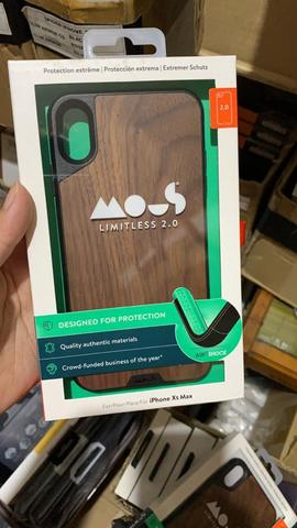 low priced 21a95 1f989 MOUS Limitless 2.0 Case iPhone Xs Max - Walnut Wood Original