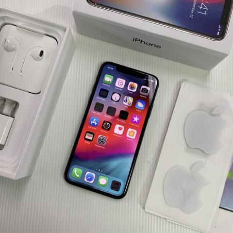 iPhone X 256GB Space Gray Warranty inter Agustus 2019 Fullset Original