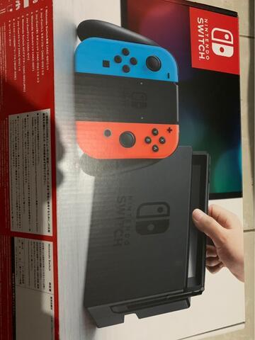 Nintendo Switch 2nd FW Ori + (optional) games Zelda, Mario Kart