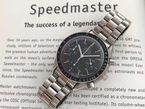 ORIGINAL OMEGA SPEEDMASTER REDUCED AUTOMATIC CHRONOGRAPH 38MM
