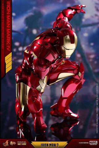 Hot Toys Ironman mark 4 IV Diecast regular
