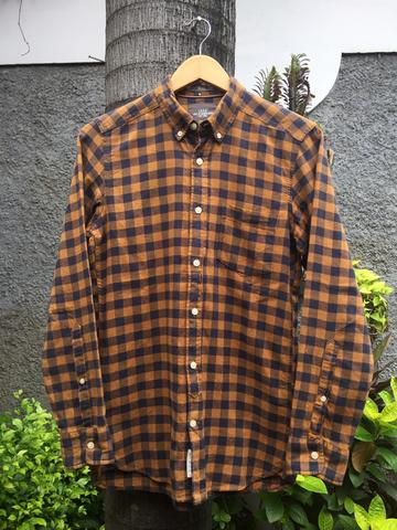 KEMEJA KOTAK2 FLANNEL SHIRT BUTTONDOWN L.O.G.G H&M HnM