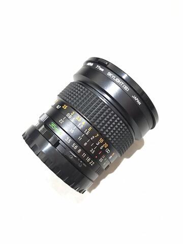 [CAKIM] WTS lensa Mamiya Sekor C 35mm F3.5 bonus filter like new