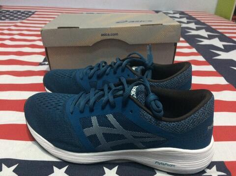 Asics Road Hawk FF ink Blue Running Shoes Original not Nike Adidas Reebok Puma Vans