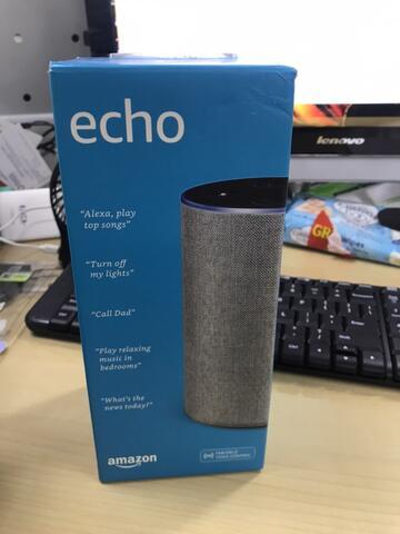 Amazon Echo Alexa Bluetooth Speaker dari Inggris