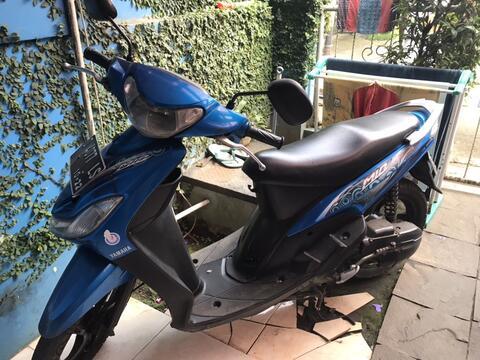 Yamaha Mio biru plat D kota Bandung