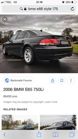 Velg BMW OEM/ORI E66/E65 760Li Style 175 R18