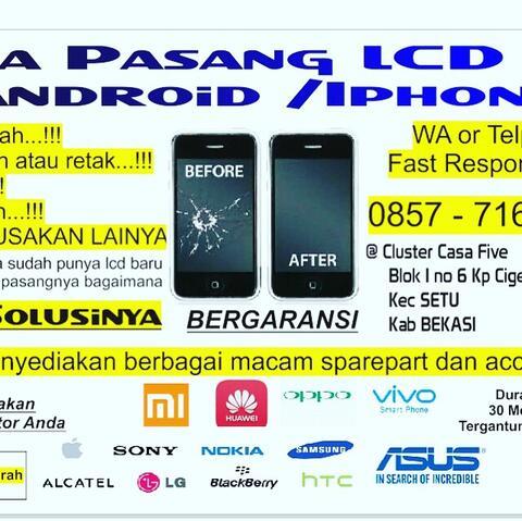 Promo Service Iphone atau Android