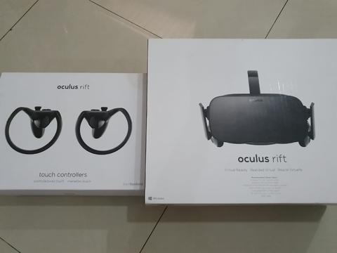 [GPL] Oculus Rift CV1 Limited Virtual Reality with Touch Controllers