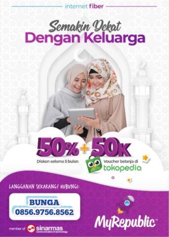 internet myrepublic spesial ramadhan diskon 50% + 50k free E-voucher