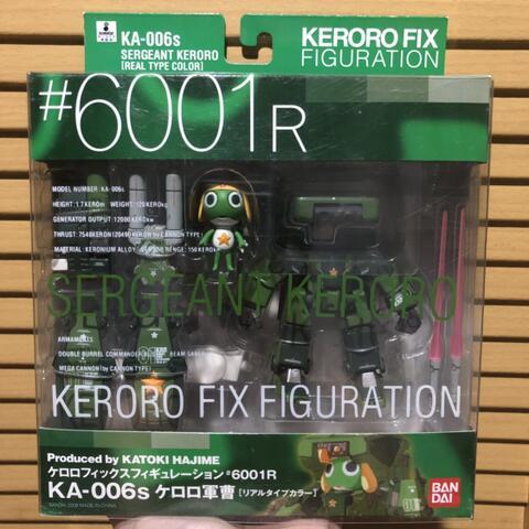 Keroro Fix Figuration KA 006s Sergeant keroro MISB JPN region RARE
