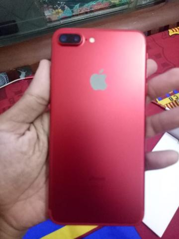 iphone 7 plus red edition fullset ex garansi inter