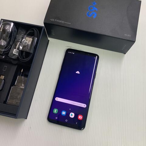 Samsung S9 Plus 128GB Black Super Mulus total Garansi resmi SEIN