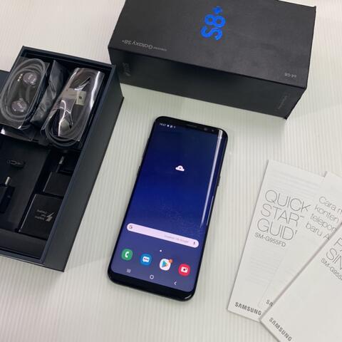 Samsung S8 Plus 64GB Black Super Mulus ex Garansi resmi SEIN