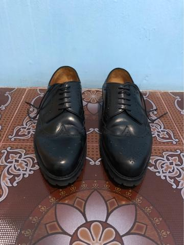 Fortuna Shoes X The Goods Dept - Derby Longwing Black