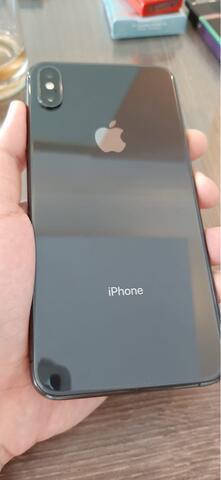 iPhone XS Max 256gb space gray (hitam) lengkap mulus